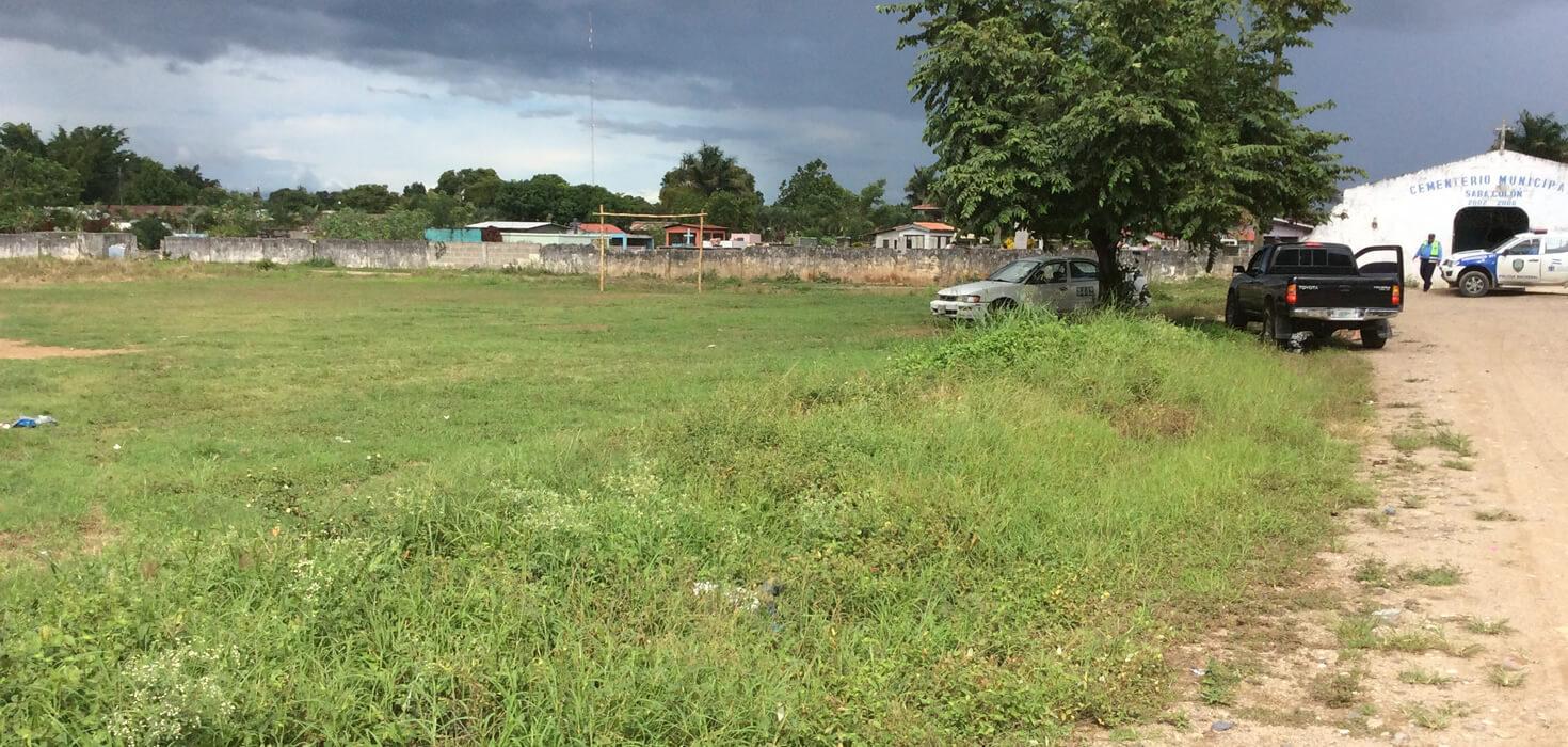 Venta de Lote de terreno ubicado en Barrio La Pava frente al cementerio, Sabá, Colón, Honduras