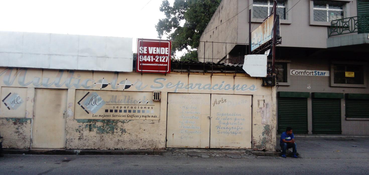 Venta de Local Comercial ubicado en Barrio Medina, 11-12 calle, 2da avenida S.E., San Pedro Sula, Cortes, Honduras